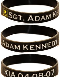 Sgt. Adam Kennedy Bracelet